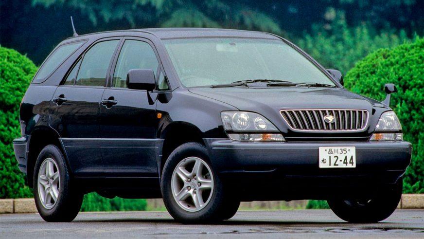 1997 год — Toyota Harrier