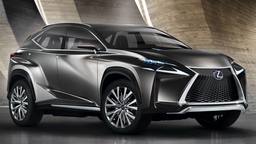 2013 год — Lexus LF-NX Concept