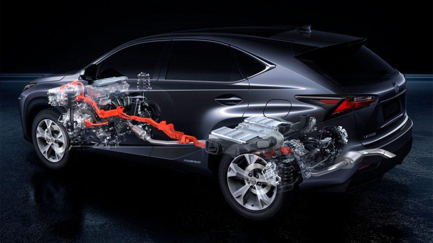 Lexus NX 300h - 2014 - трансмиссия
