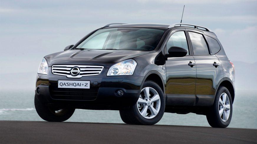 2008 год — Nissan Qashqai+2