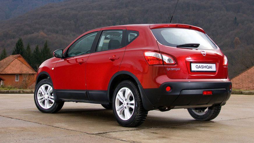 2010 год — Nissan Qashqai первого поколения (рестайлинг)