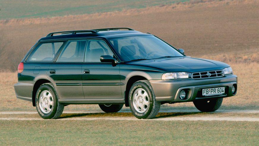 1996 год — Subaru Legacy Outback первого поколения
