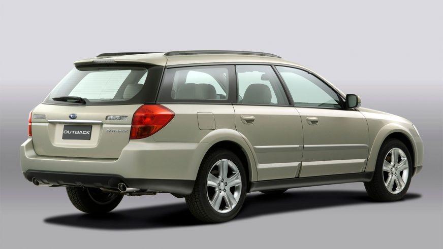 2003 год — Subaru Outback третьего поколения
