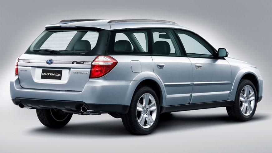 2006 год — Subaru Outback третьего поколения (рестайлинг)