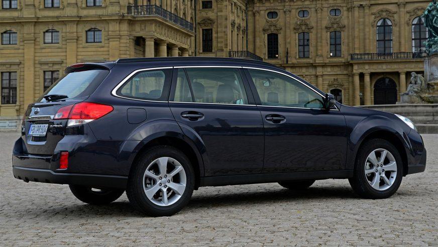 2013 год — Subaru Outback четвёртого поколения (рестайлинг)