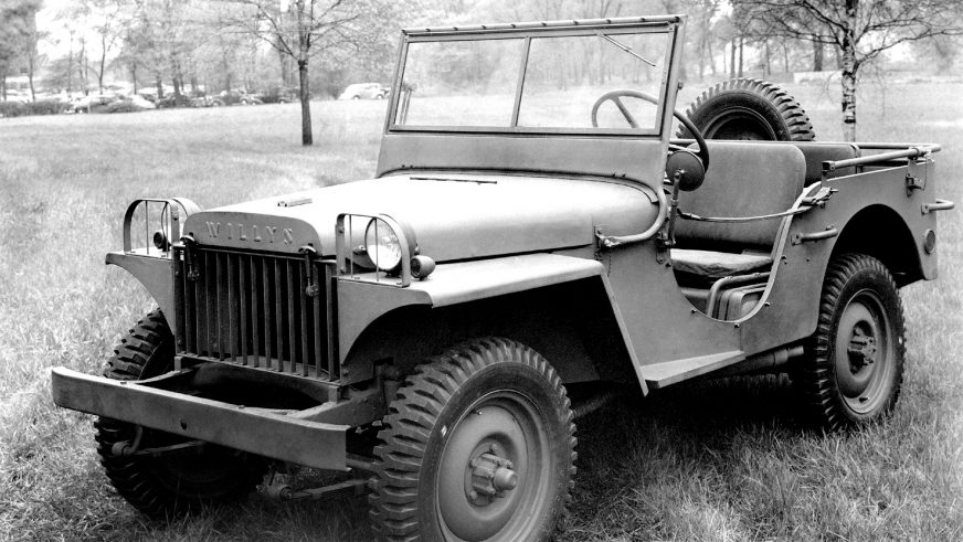 1941 год — Willys MA
