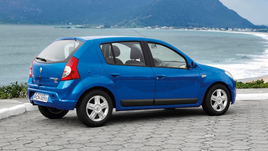 2007 год — Renault Sandero первого поколения (для рынка Южной Америки)