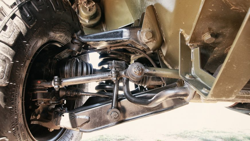 Otokar Cobra - 2012 - шасси