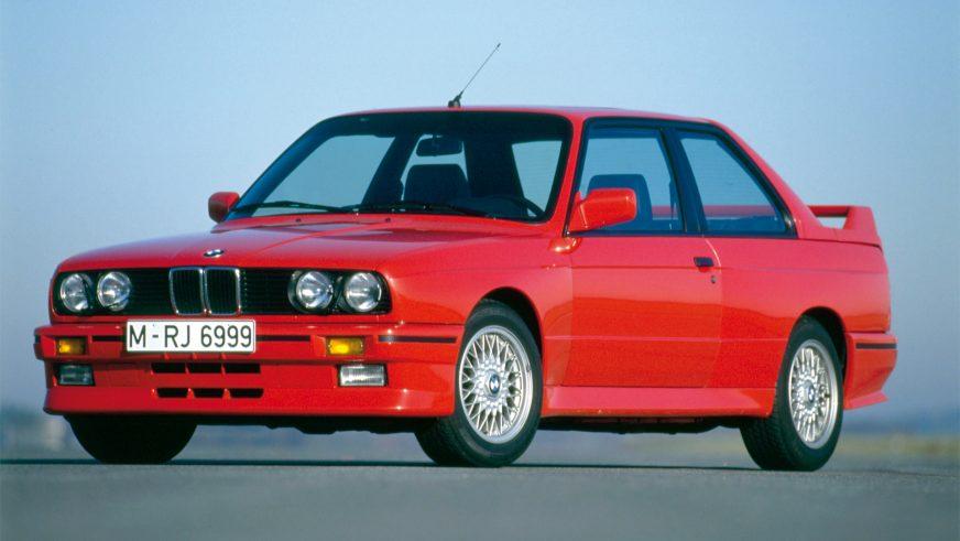 1986 год — BMW M3 Coupe (E30) первого поколения