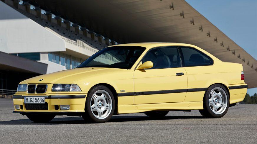 1992 год — BMW M3 Coupe (E36) второго поколения