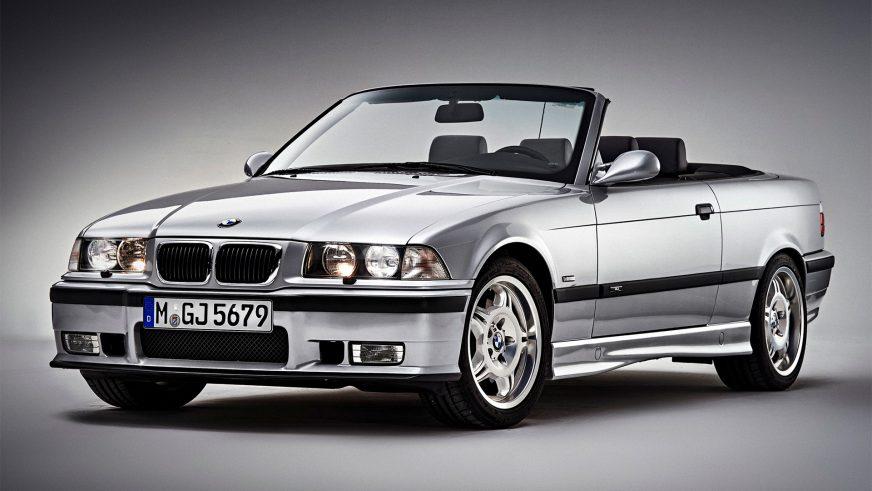 1994 год — BMW M3 Cabrio (E36) второго поколения