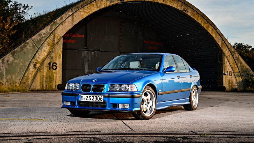 1994 год — BMW M3 Sedan (E36) второго поколения