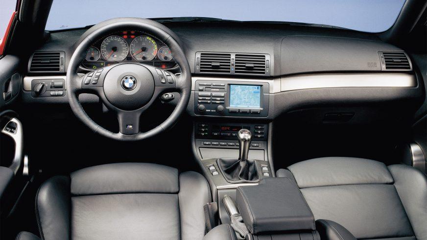 2001 год — BMW M3 (E46) третьего поколения