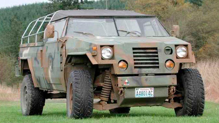 1980 год — HMMWV XM966