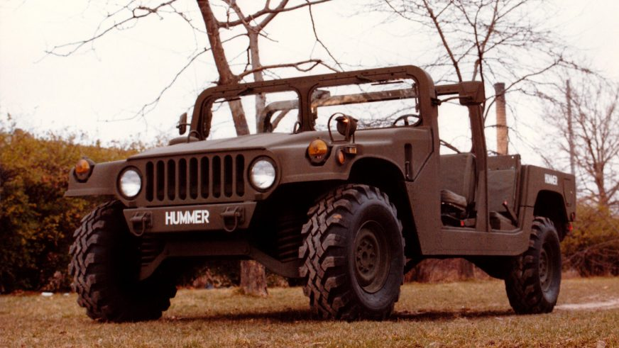 1981 год — HMMWV XM998 Prototype II