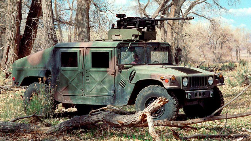 1984 год — HMMWV M1025