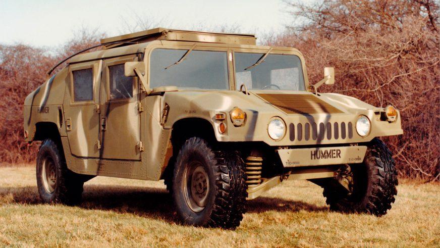 1984 год — HMMWV M998