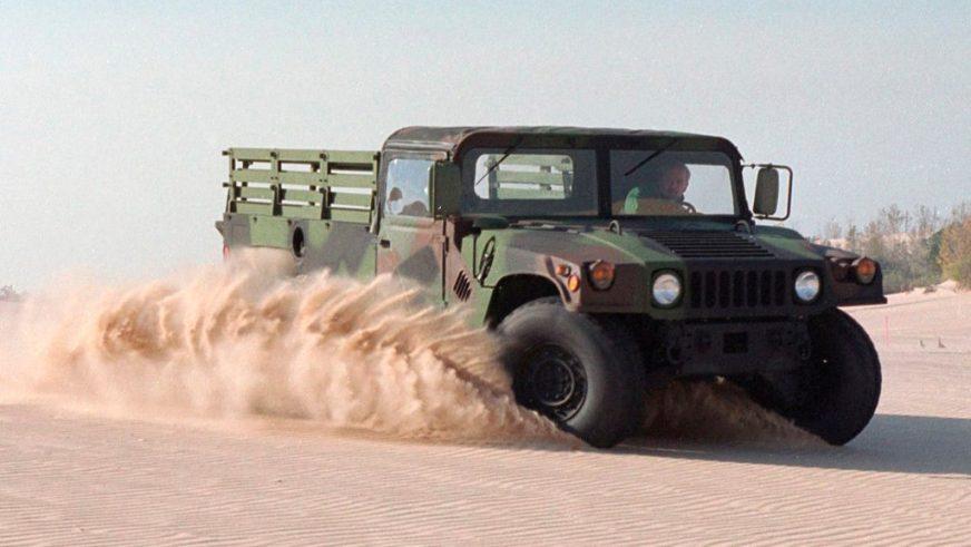 1989 год — HMMWV M1097A2 Prime Mover
