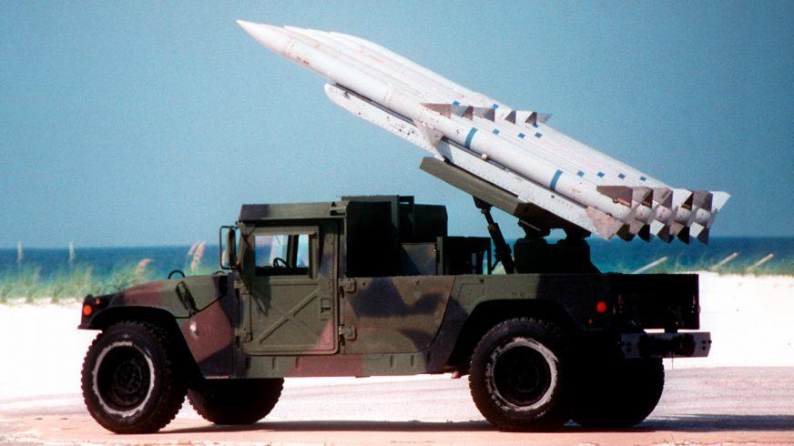 1996 год — HMMWV M1097 AMRAAM