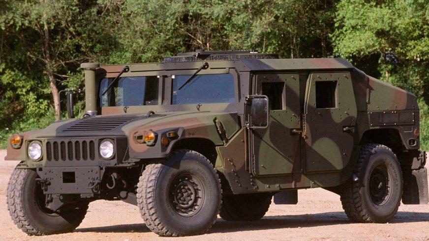 2007 год — HMMWV M1114