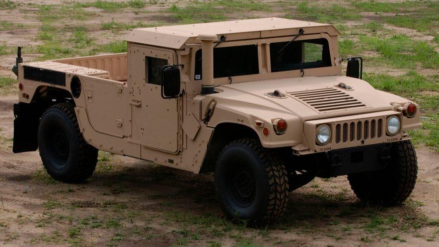 2007 год —HMMWV M1152