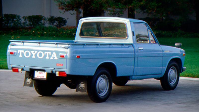 1968 год — Toyota Hilux первого поколения