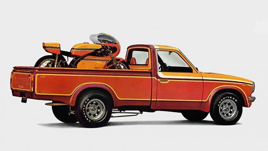 1972 год — Toyota Hilux второго поколения