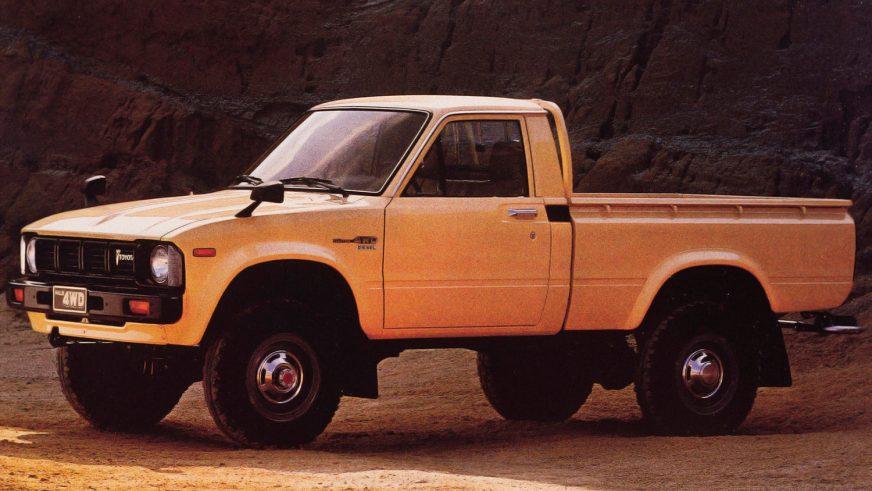 1978 год — Toyota Hilux третьего поколения