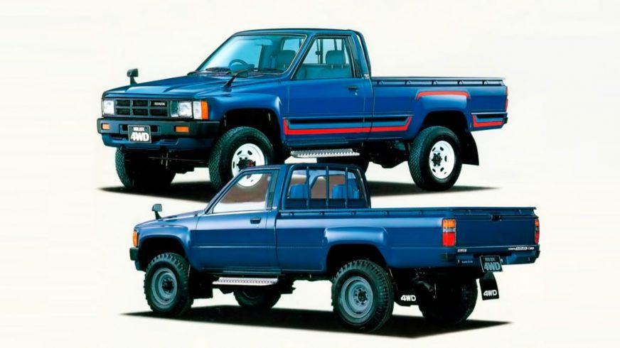 1983 год — Toyota Hilux четвётого поколения