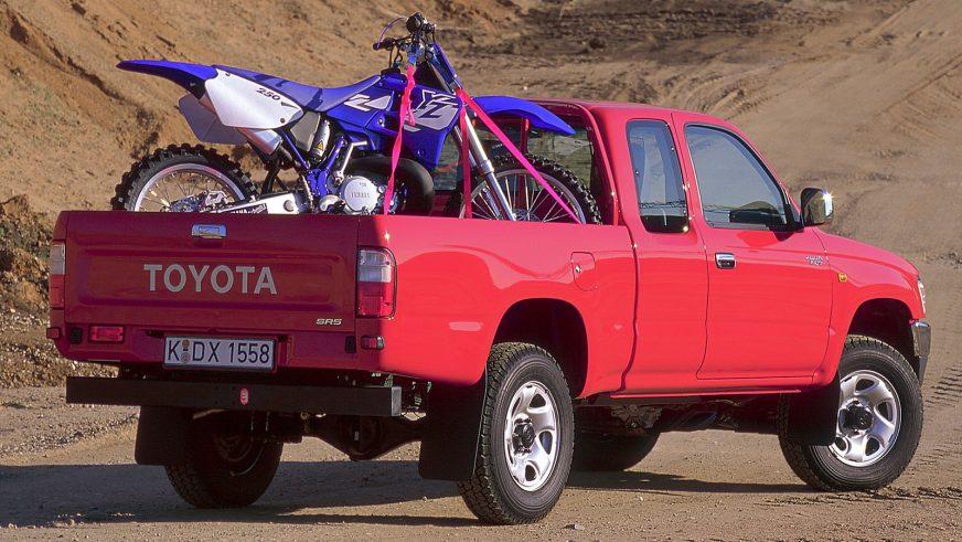 1997 год — Toyota Hilux шестого поколения