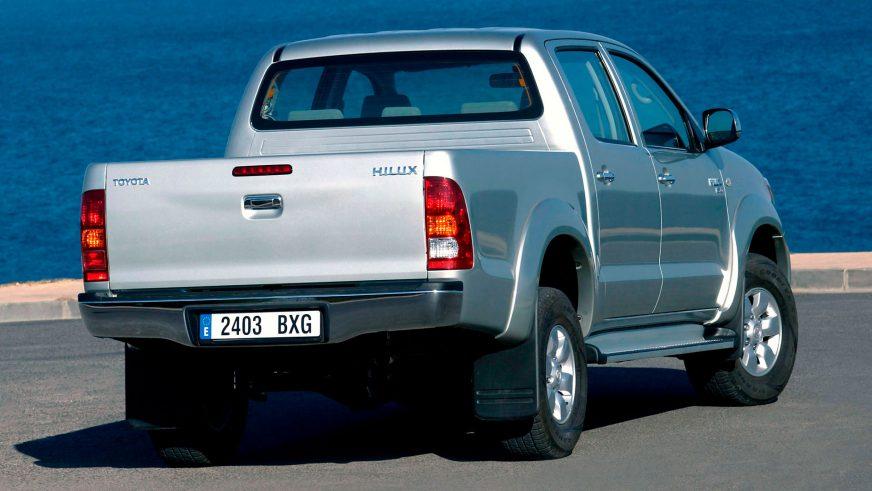 2005 год — Toyota Hilux седьмого поколения