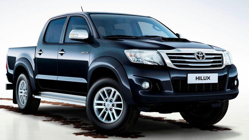 2011 год — Toyota Hilux седьмого поколения (рестайлинг)