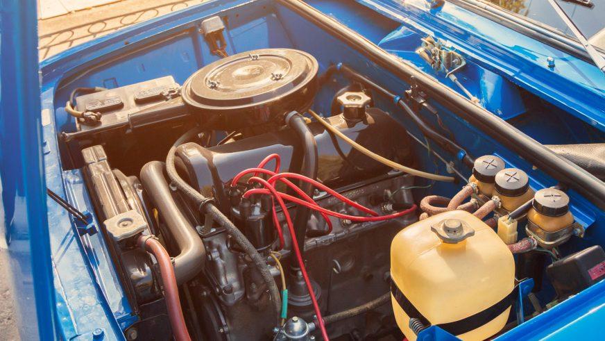 ВАЗ-2101 «Жигули» - 1973 - двигатель