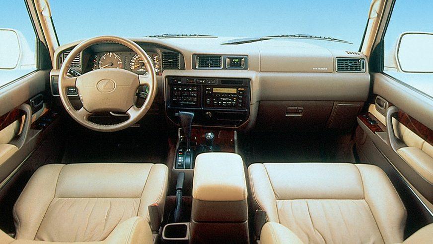 1995 год — Lexus LX 450 (FZJ80) первого поколения