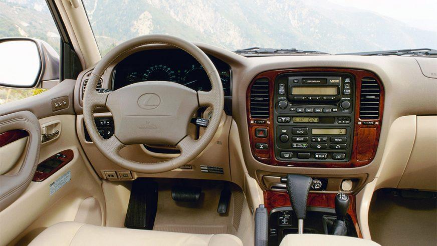 1997 год — Lexus LX 470 (UZJ100) второго поколения