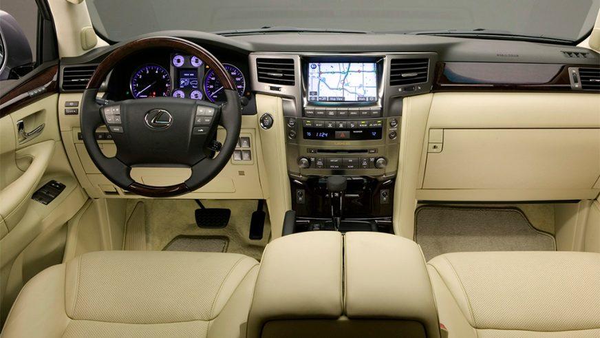 2008 год — Lexus LX 570 (URJ200) третьего поколения