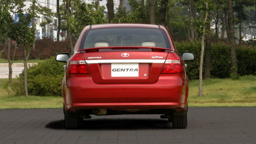 2006 год — Daewoo Gentra (T250)