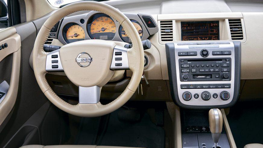 2003 год — Nissan Murano (Z50) первого поколения