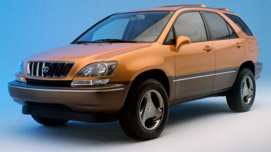 1997 год — Lexus SLV