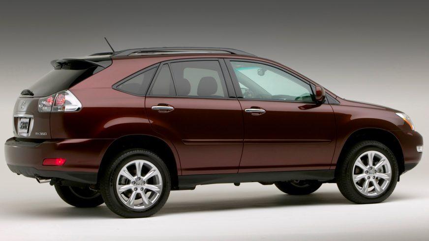 2006 год — Lexus RX (XU30) второго поколения, рестайлинг