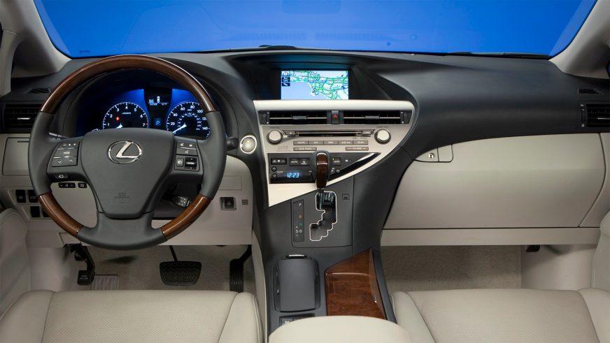 2008 год — Lexus RX (AL10) третьего поколения
