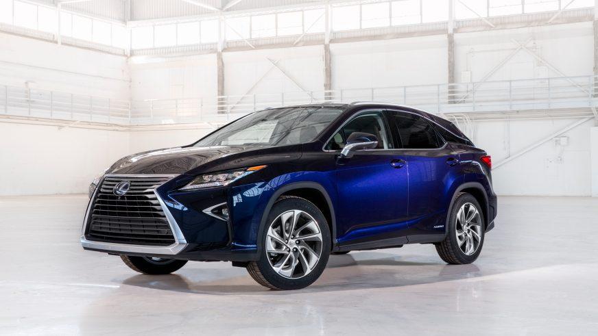 2015 год — Lexus RX четвёртого поколения