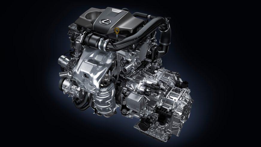 Lexus RX - 2015 - двигатель