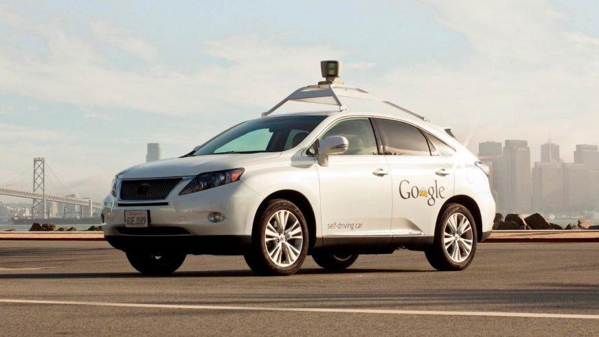 Google-мобиль Lexus