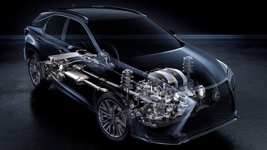 Lexus RX - 2015 - трансмиссия