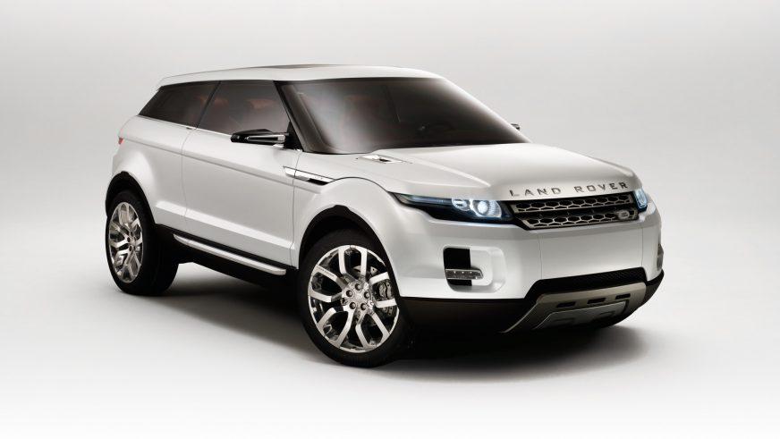 2008 год — Land Rover LRX Concept