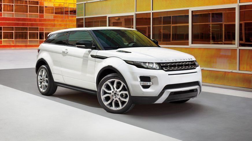2011 год — Range Rover Evoque Coupe