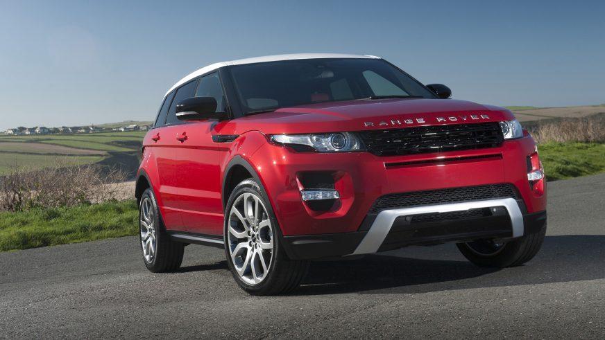 2011 год — Range Rover Evoque