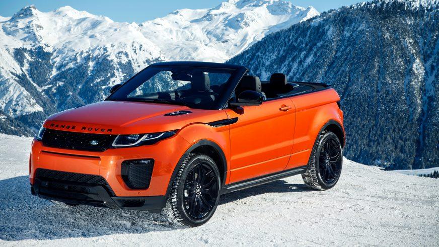 2016 год — Range Rover Evoque Convertible