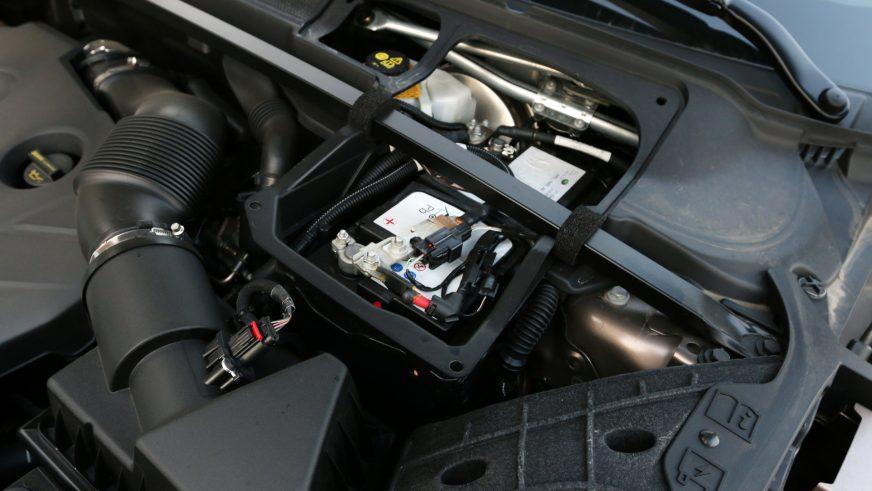 Land Rover Range Rover Evoque - 2015 - двигатель